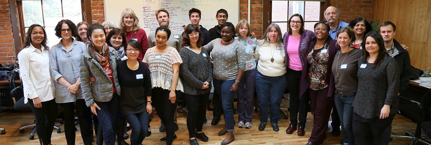 Diversity workshop group photo